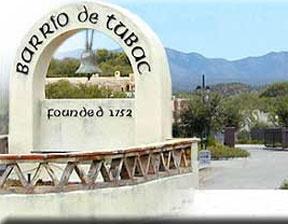 Tubac AZ and the Santa Rita mountains
