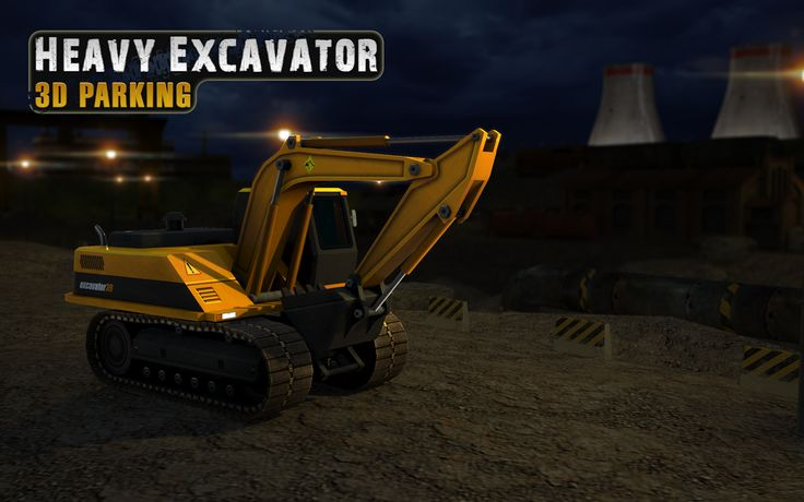 Prove your professional driver skills in Heavy #Excavator 3D #Parking