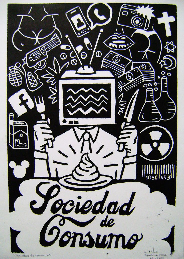 """Sociedad de Consumo"" Artista: Agustina Meza"