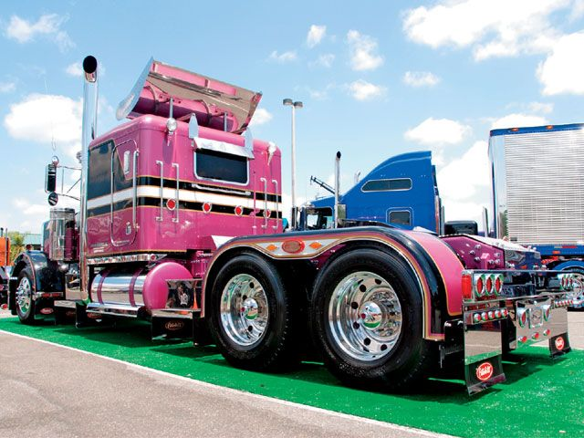 Custom Big Rig Truck Show 1986 Peterbilt