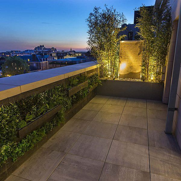 Roof Terrace Design St John's Wood London, by The Garden Buidlers