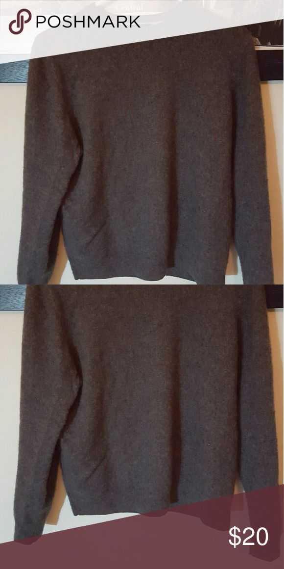 Grey Cashmere Sweater 100% cashmere sweater from Forte. Gently used in good condition. Forte Cashmere  Sweaters Crew & Scoop Necks
