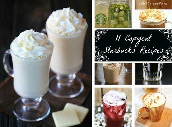 11 Delicious DIY Starbucks Drink Recipes