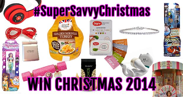 #SuperSavvyChristmas - WIN CHRISTMAS 2W014 with www.missmamosworld.com & www.supersavvysteph.com