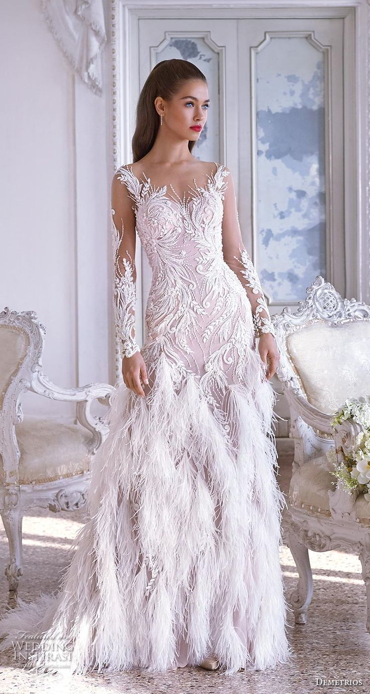 Platinum by Demetrios 2019 Robes de mariée