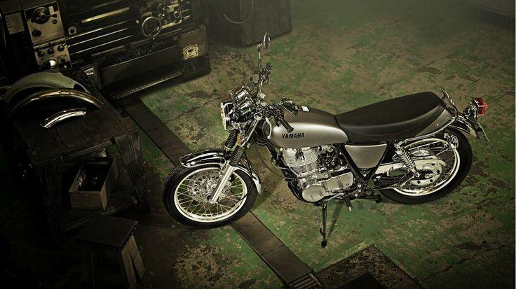 2014 Yamaha SR400 Matt Grey