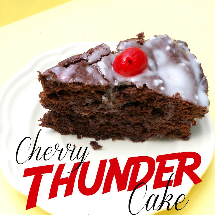 Science Thunder Cake Experiment
