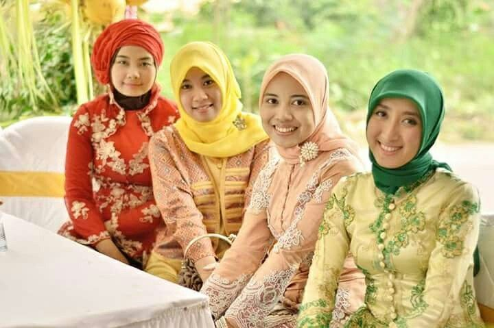 Pager Ayu di nikahan Tiwi