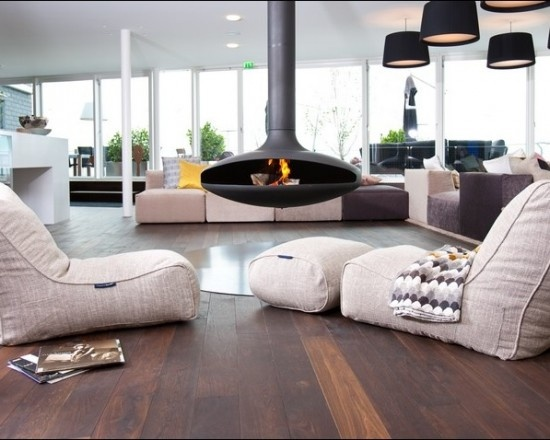 Bean Bag Chair Time limited Genuine Leather Modern Muebles ...
