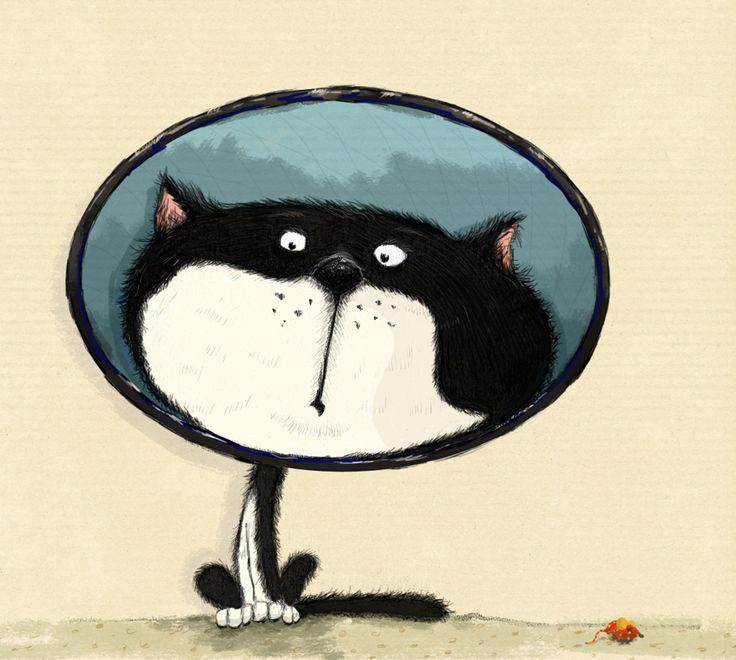Lamp-cat – andrearingli illustration