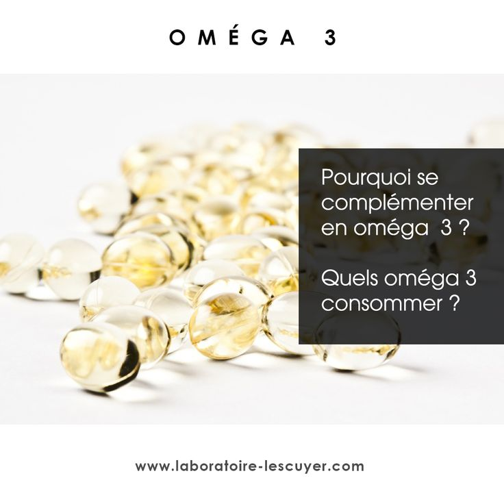 oméga 3 #santé #nutrition