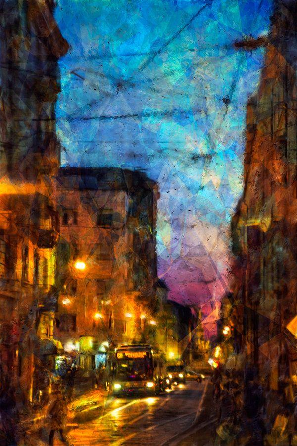 Turin winter street by vlad-m.deviantart.com on @deviantART