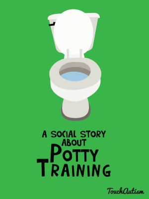 Potty Training Social Story app that has an interactive story about potty training that is customizable for boys or girls. Available in the app store #touchautism