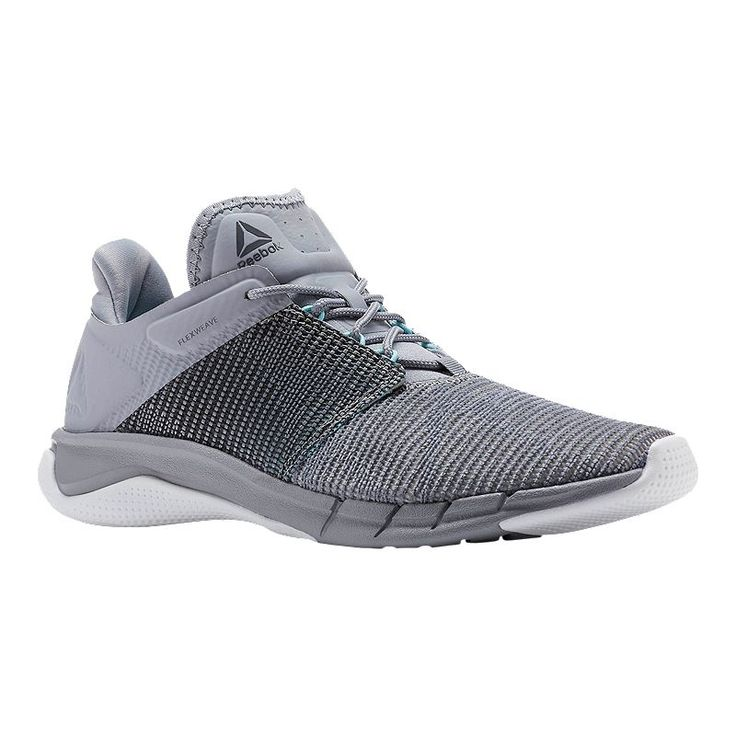 Reebok Women S Fast Flexweave Running Shoes Grey Blue White