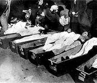 Morgue photos of Titanic victims