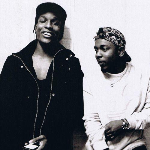 Asap Rocky And Kendrick Lamar