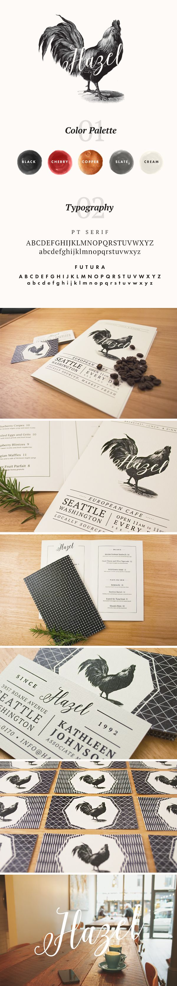 Hazel Branding by Nikki Clark // Inspiration for the EMRLD14 Team // www.emrld14.com