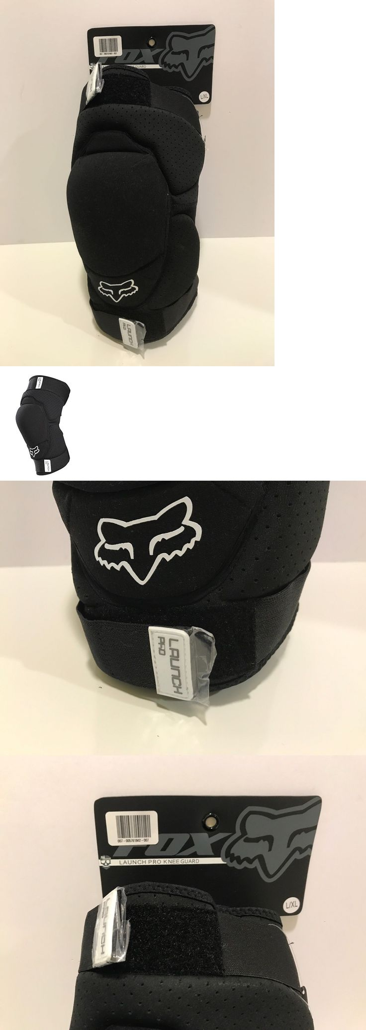Protective Pads and Armor 42326: Fox Racing Launch Pro Mtb Knee Guard L Xl Black -> BUY IT NOW ONLY: $49.98 on eBay!