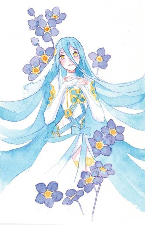 Fire Emblem: If/Fates - Aqua/Azura Watercolor Art