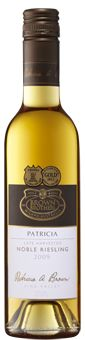Just released: 2008 Patricia Noble Riesling.A complex, rich and elegant dessert wine.