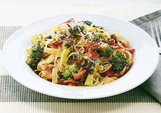 Bacon and Broccoli Carbonara