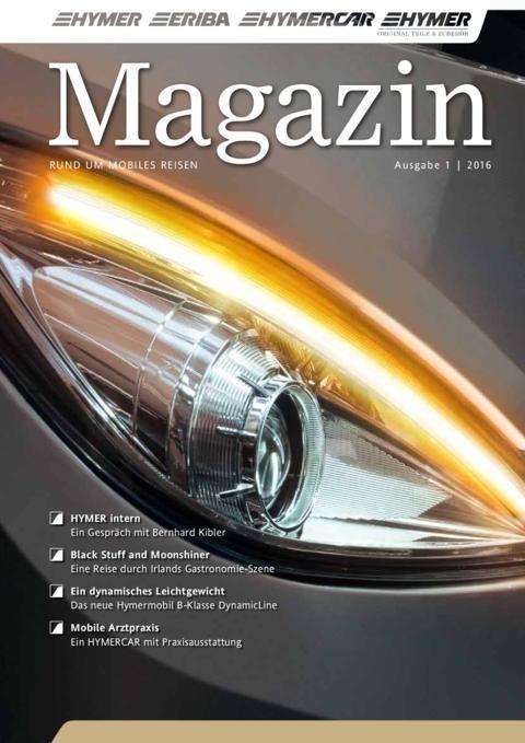 HYMER Magazin 01/2016