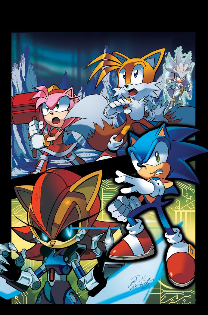 Sonic the Hedgehog 247 Cover by herms85   SONIC THE ...