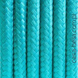 Przewód zasilający Morski Raj od Kolorowe Kable- kabel w kolorze morskim - casa-bella - oświetlenie to nasza pasja