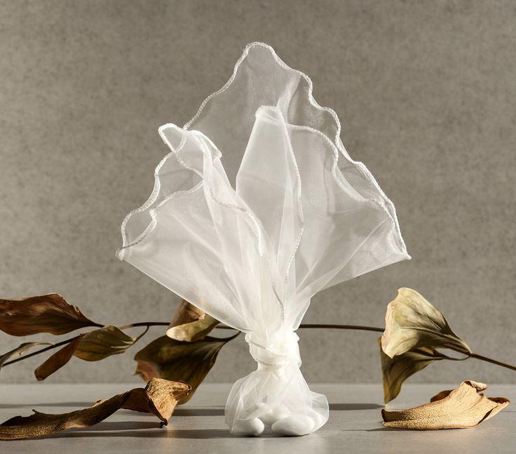 organza μπομπονιέρα γάμου