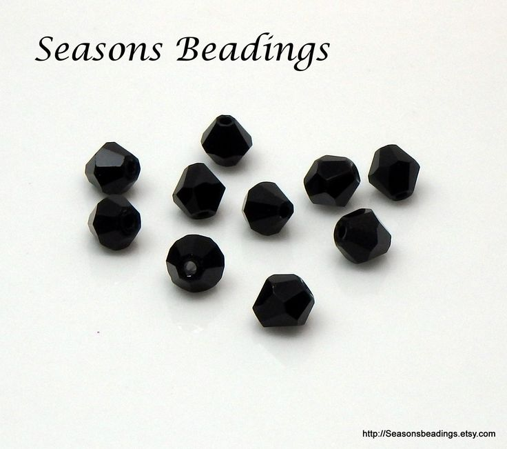These #black beauties are now available at my #etsy shop: 50 Opaque Black 6mm Crystal Bicone Beads - Free Shipping to Canada http://etsy.me/2jucUdr #supplies #bicone #jewelrymaking #crystal #bead #crystalbead