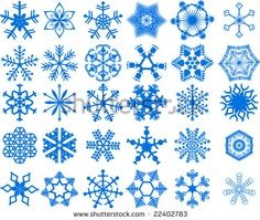 Different snowflake ideas