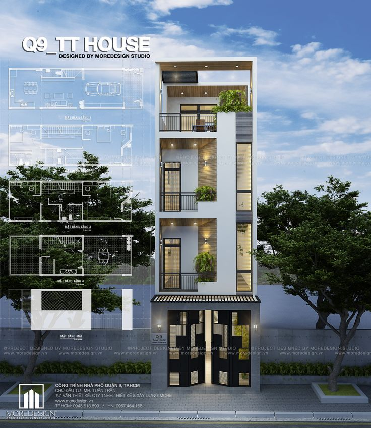 Q9 HOUSE Architecture_ Concept No.2 Designed by MOREDESIGN STUDIO. www.moredesign.vn