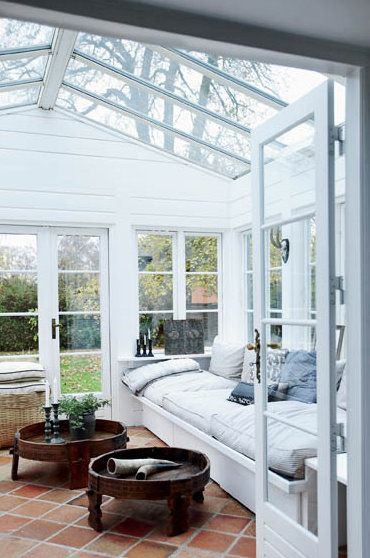 Greenhouses can allow you to enjoy outdoor living, year round!