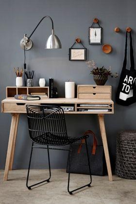 10 stilfulde skriveborde   Indret dit skrivebord workspace barefootstyling.com