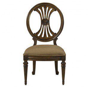 Fine Furniture Design Belvedere Oval Back Side Chair FF-1150-824