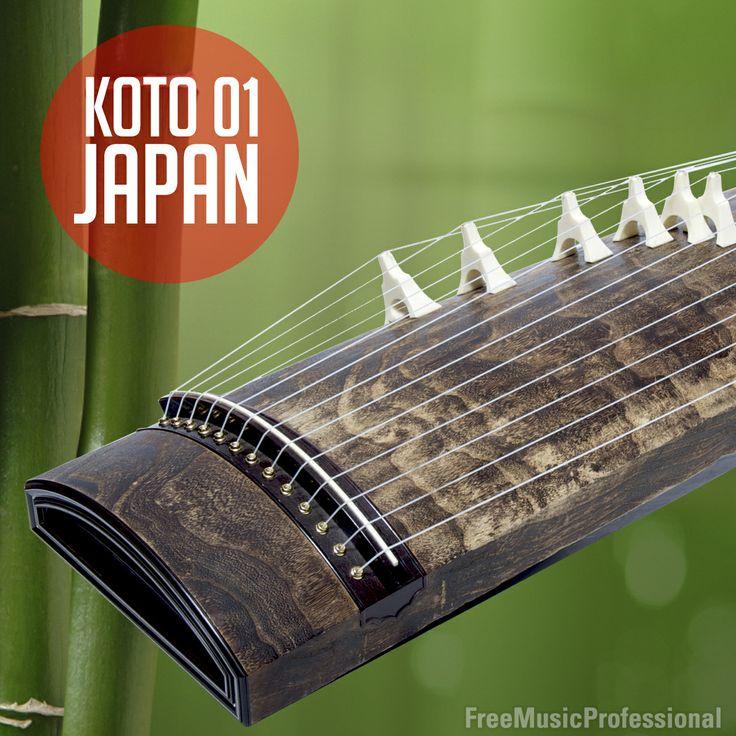 El Koto, es un instrumento de cuerda japonés de origen chino. Este instrumento ha sido utilizado ampliamente no solo en la interpretación de la música tradicional oriental, sino también en muchos géneros contemporáneos. Koto Japan 001, es libre de derechos, Free Royalty Music. Free Music Professional.   http://www.freemusicprofessional.com/index.php/en/genres/orient/orient-koto-japan-detail