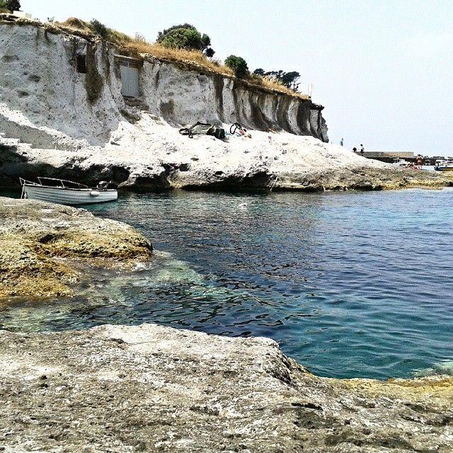 Ponza.Italia.Piscine naturali