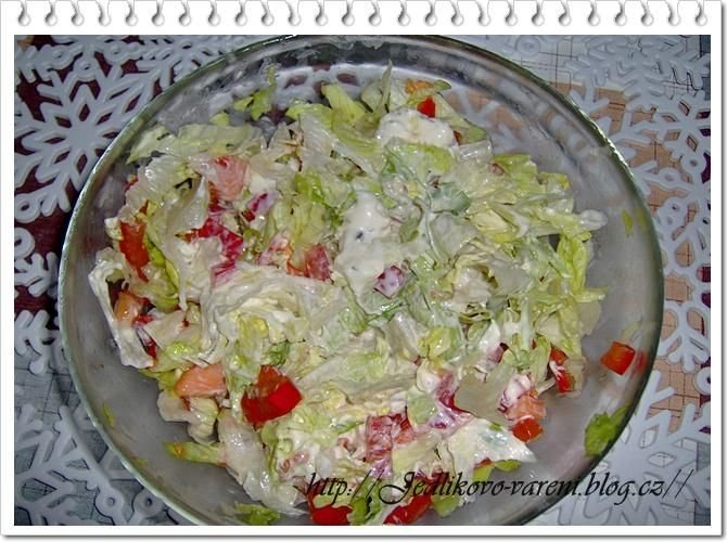 Jedlíkovo vaření: rychlý zeleninový salát  #recept #salat #zelenina