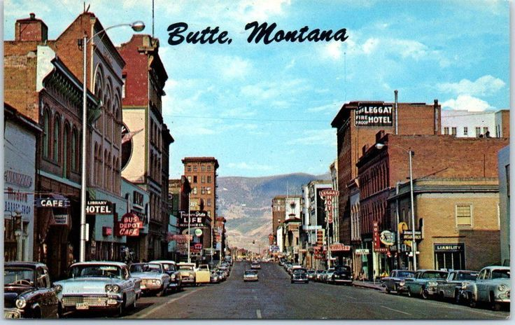 """BUTTE, Montana Postcard Broadway Avenue Downtown Street Scene c1950s Unused - $7.50. Our large front and back scans show you the exact condition of this postcard. Size: Approx. 5.5"""" x 3.5"""" If you have questions about this card, or if you're looking for a particular postcard, click the """"Ask a question"""" link at the bottom of this listing. (You will receive a friendly answer very soon!) Visit our eBay Store to shop Thousands of Great Vintage Postcards! 382026571030"""