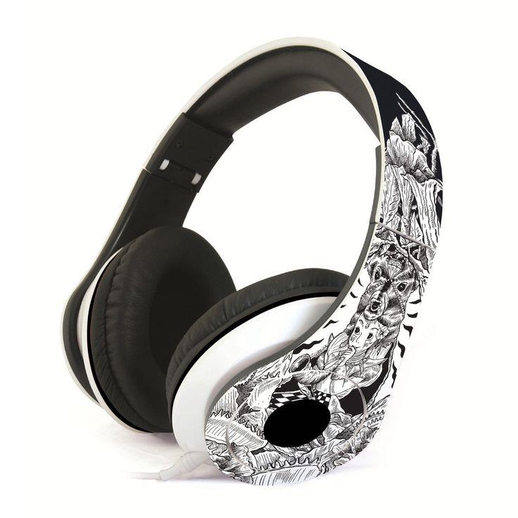 Musika Headphone (design by JP Cuison) #punchdrunkpanda #headphone #music #graphicdesign #design