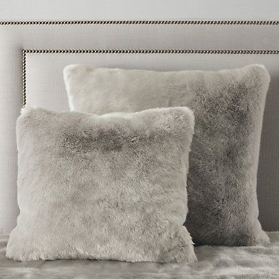 Supreme Faux Fur Collection - Silver | The White Company