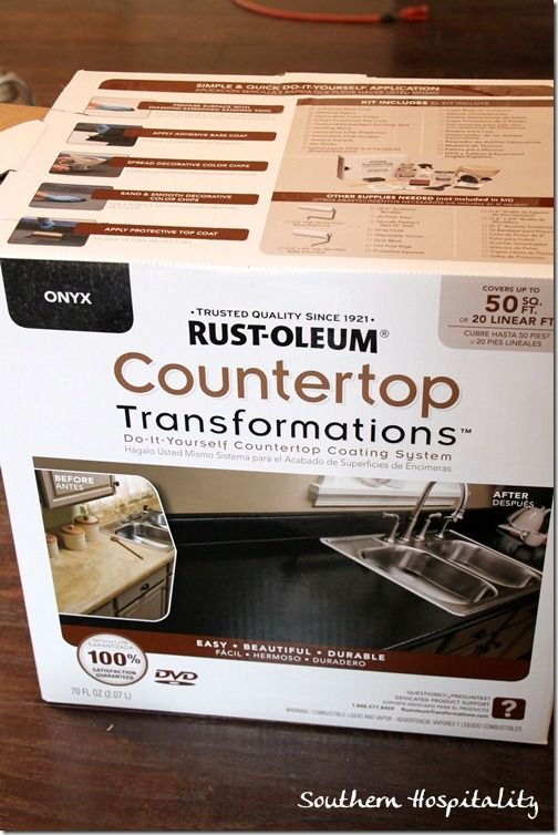 Rustoleum Countertop Paint Drying Time : rust oleum countertop transformations reviews Southern Hospitality ...