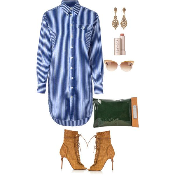 exams by bademsassy on Polyvore featuring polyvore fashion style Polo Ralph Lauren Sergio Rossi Jose & Maria Barrera Christian Dior Fresh