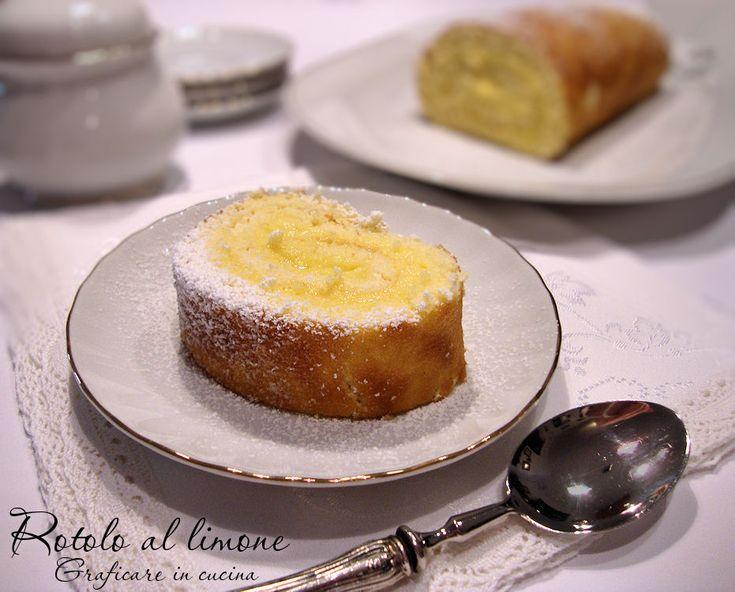 Rotolo al limone http://blog.giallozafferano.it/graficareincucina/rotolo-limone/
