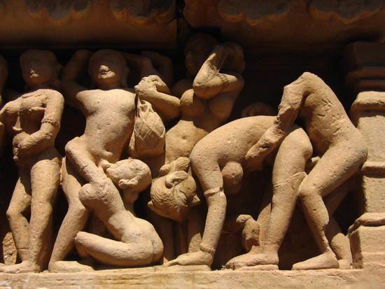 01 Erotic scuptures of Khajuraho, Khajuraho, India