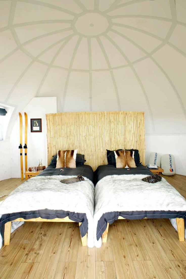 Chambre à l'hôtel de luxe White Desert - croisière en Antarctique