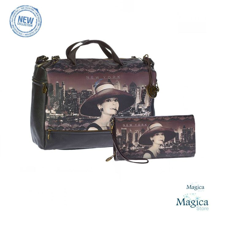Womans Fashion Tuscany bag + purse AUDREY NEW YORK * New | Authentic | Licensed* #Karactermania #Tuscanybag