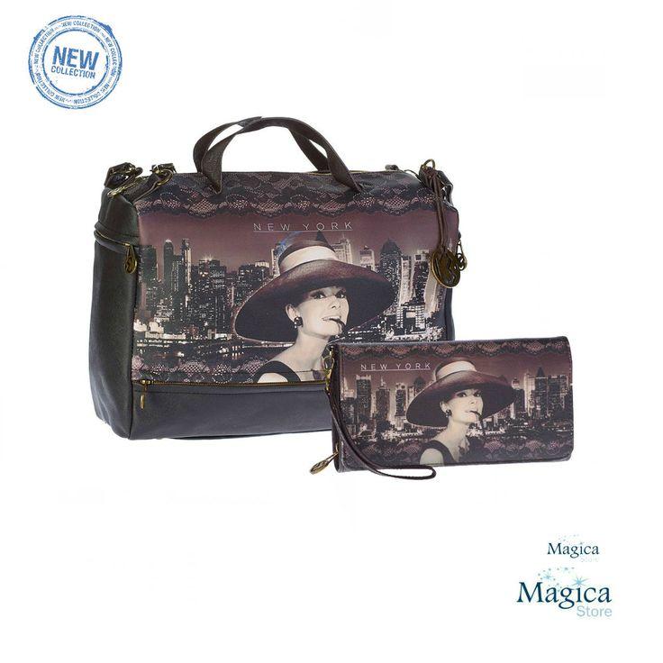 Womans Fashion Tuscany bag + purse AUDREY NEW YORK * New | Authentic | Licensed* #Karactermania #Tuscanybag