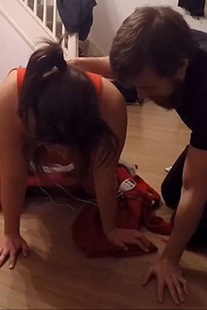 A Man Is Forced to Deliver a Baby in His Living Room — and It Was All Caught on Tape