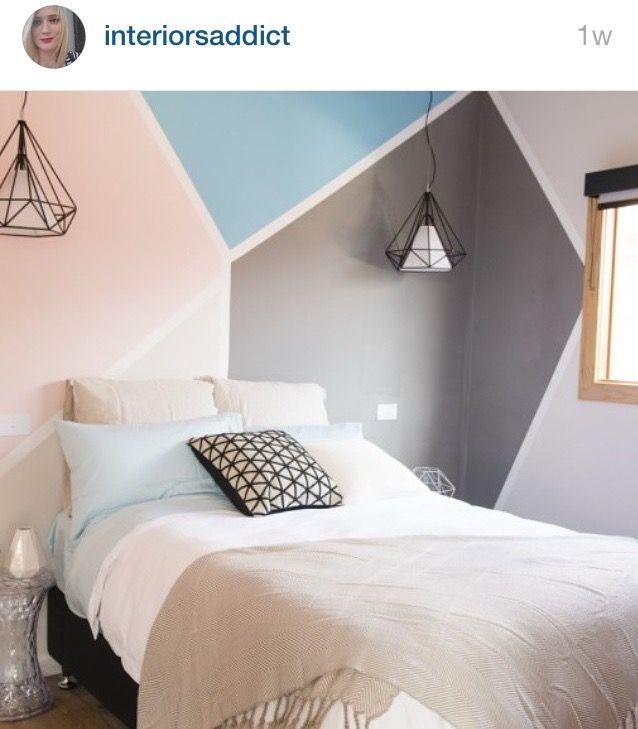 119 besten tapeten wandgestaltung bilder auf pinterest. Black Bedroom Furniture Sets. Home Design Ideas